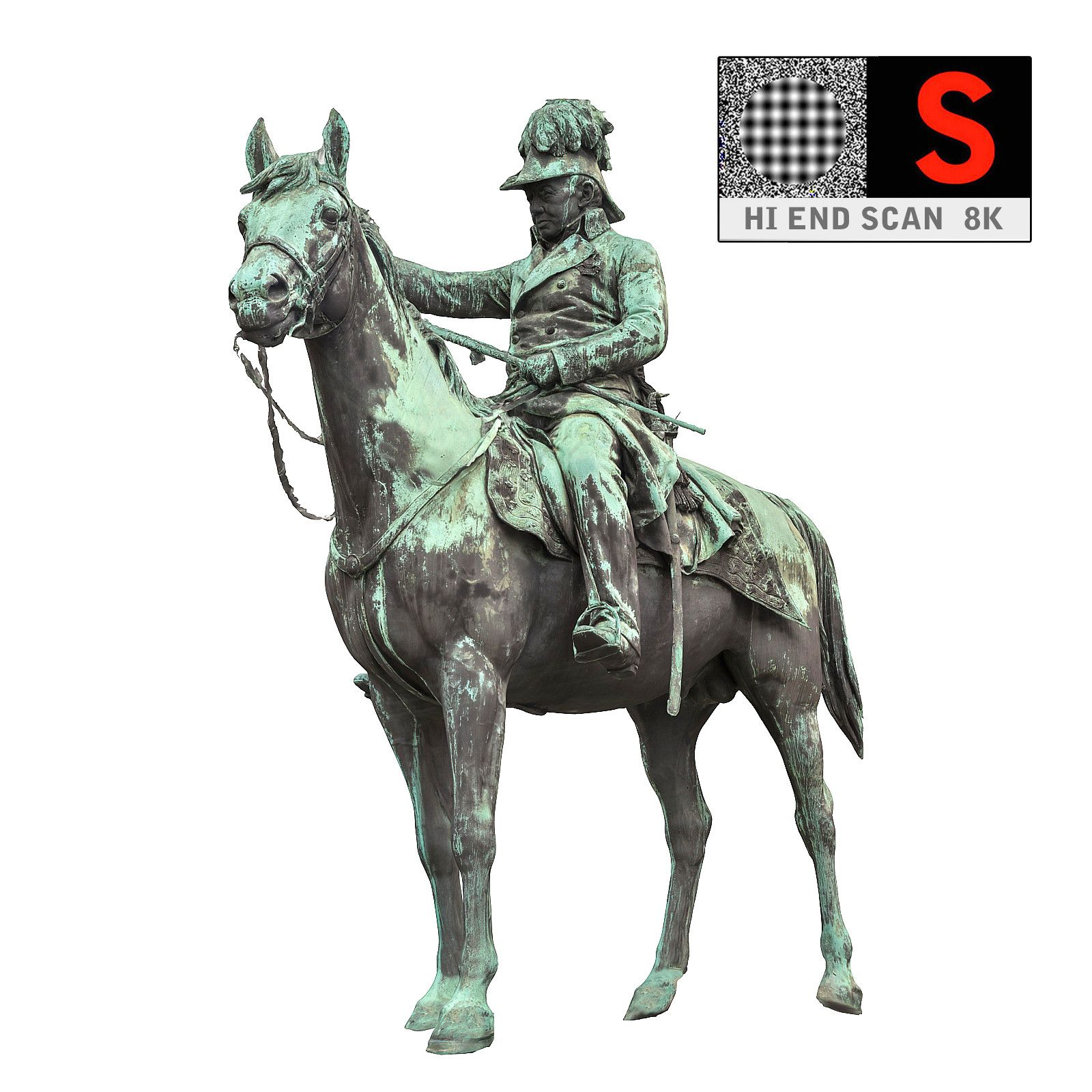 statue horse hd 3d model Statue, Angel statues, Horses