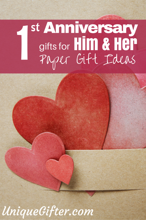 First Anniversary Gift For Him Part - 32: First Year Anniversary Gift Ideas