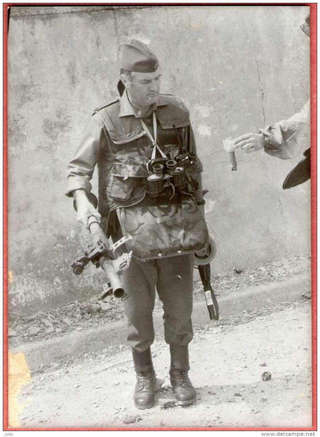 Ratko Mladic | Military diorama, Bosnian war, Military gear