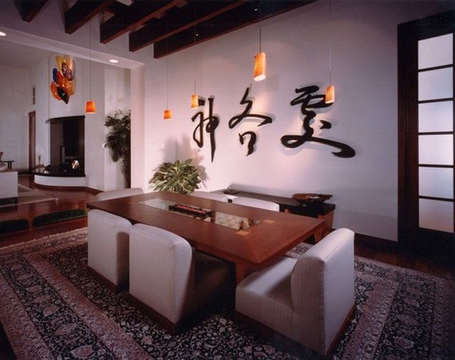 Japanese Inspired Dining Room Styles Room decor, Room style and