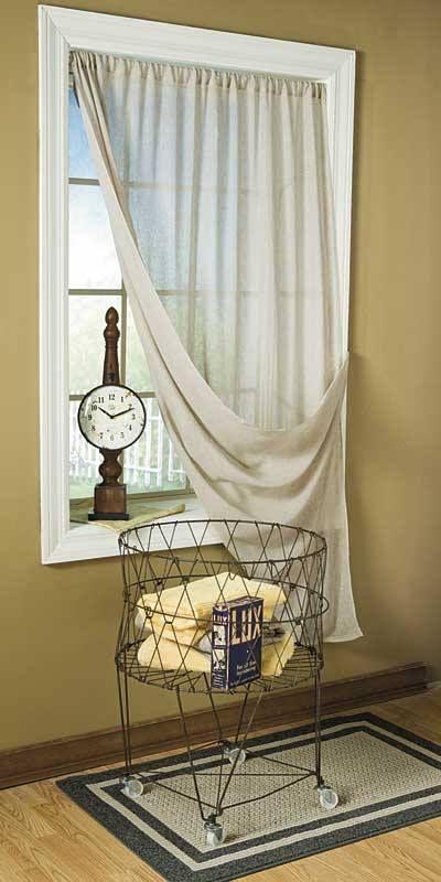 484 Tobacco Cloth Window Panels Olde Farm Creek Http