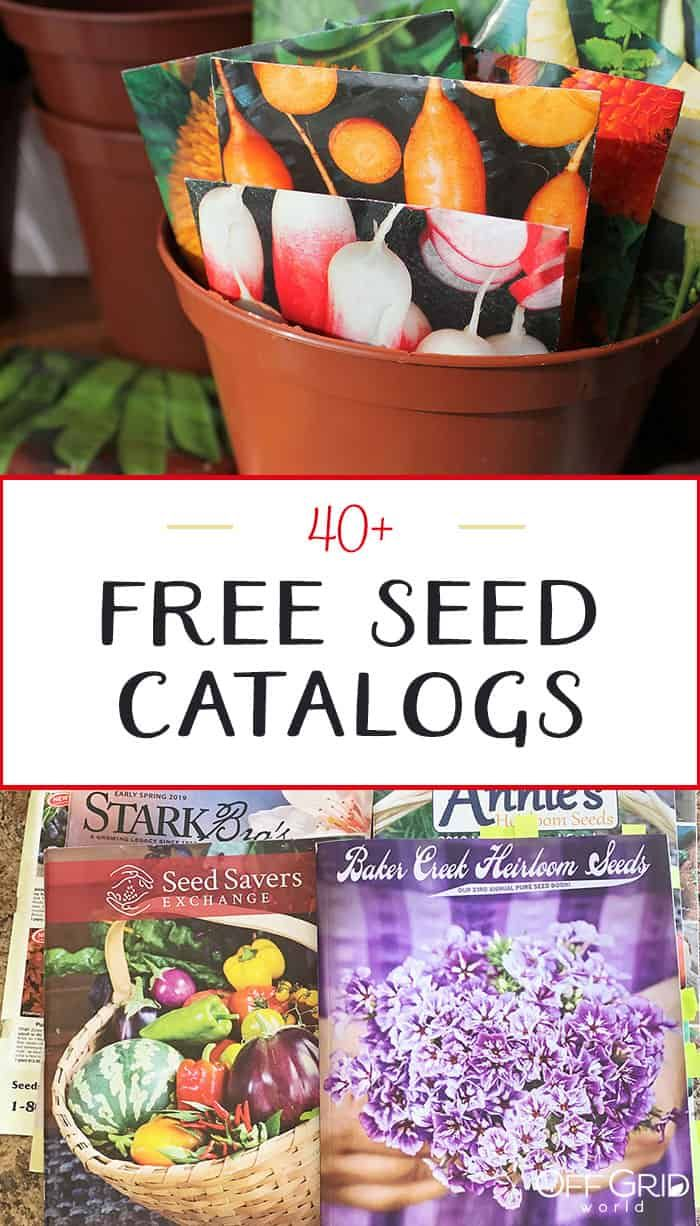 40 Free Seed Catalogs In 2020 Seed Catalogs Backyard Vegetable