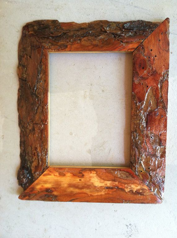 5x7 oak wood frame jones framing via etsy pinterest wood bark