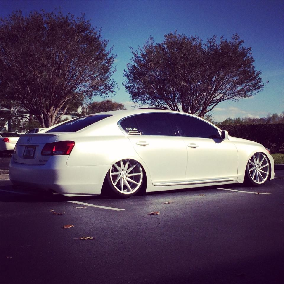 Bagged GS on Vossen CVT Customer Submissions!