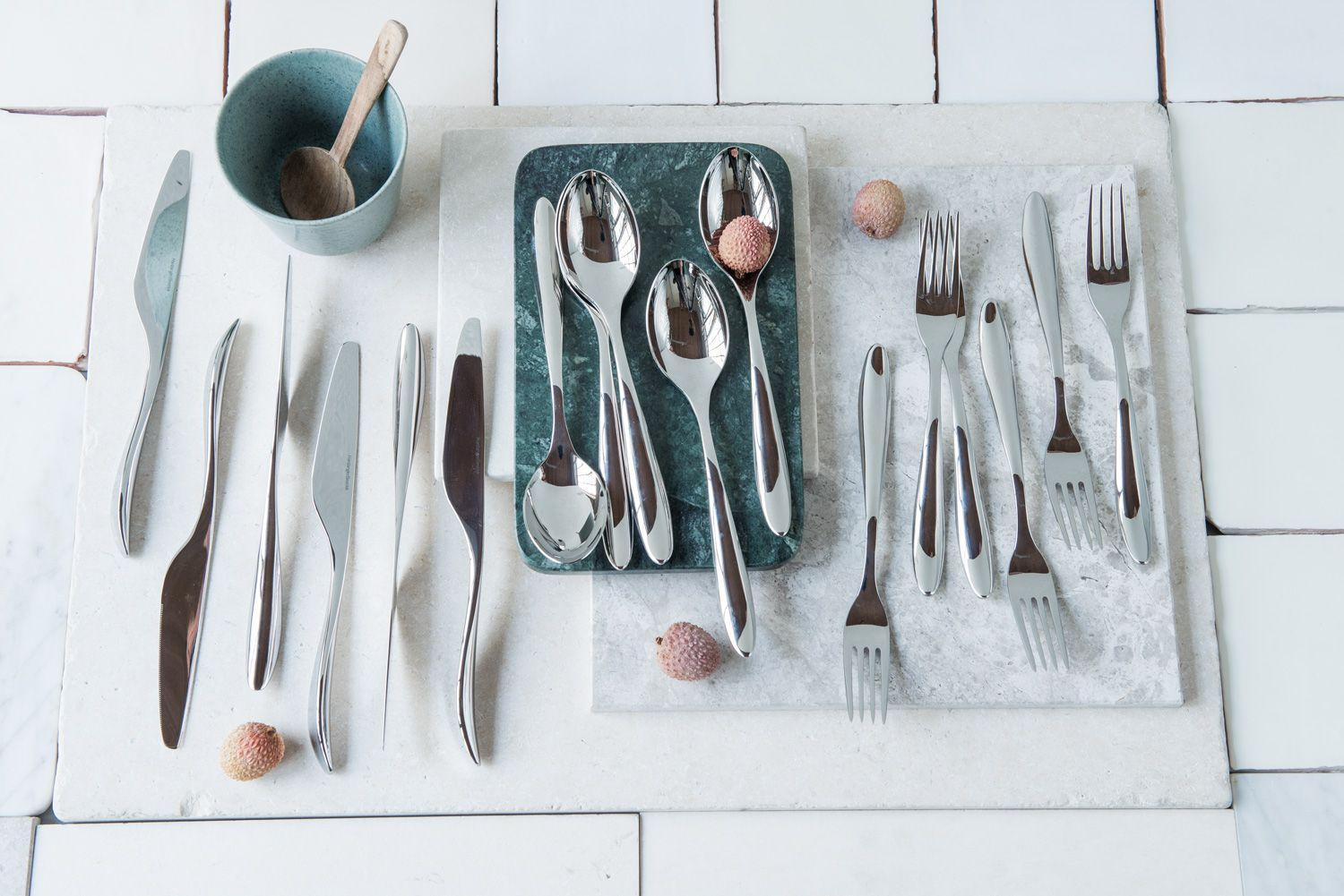 Photo of Lucky 18-piece cutlery set from Hardanger Cutlery is on the …