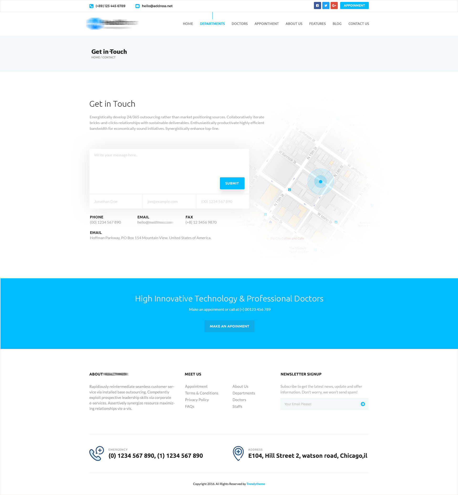 Health Nor – A Responsive Health & Medical HTML Template