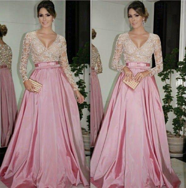 vestido+de+festa+estilo+princesa.jpg 592×600 píxeles | Night dress ...