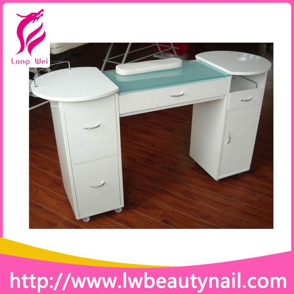 Hot Sell White Modern Manicure Table Manicure Chair Nail Salon