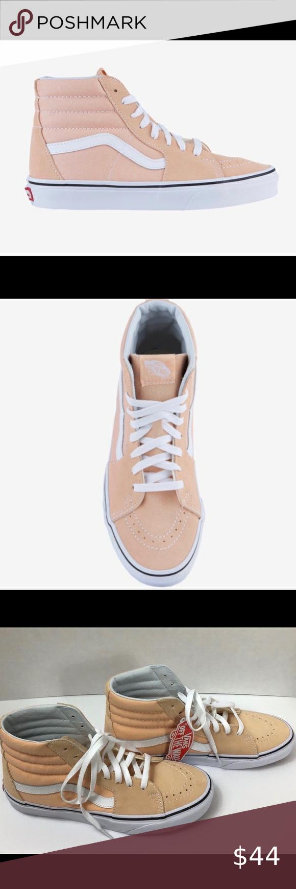 vans shoe measurements