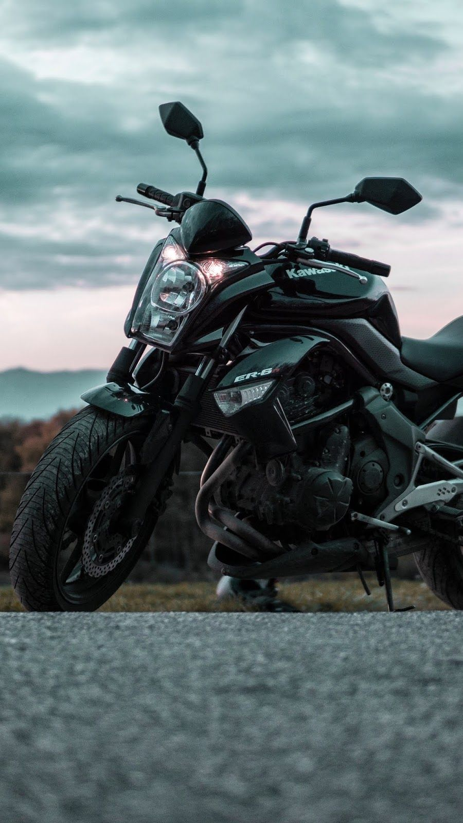 Motorcycle Side View Road Motorcycle Wallpaper Motorcycle Black Motorcycle