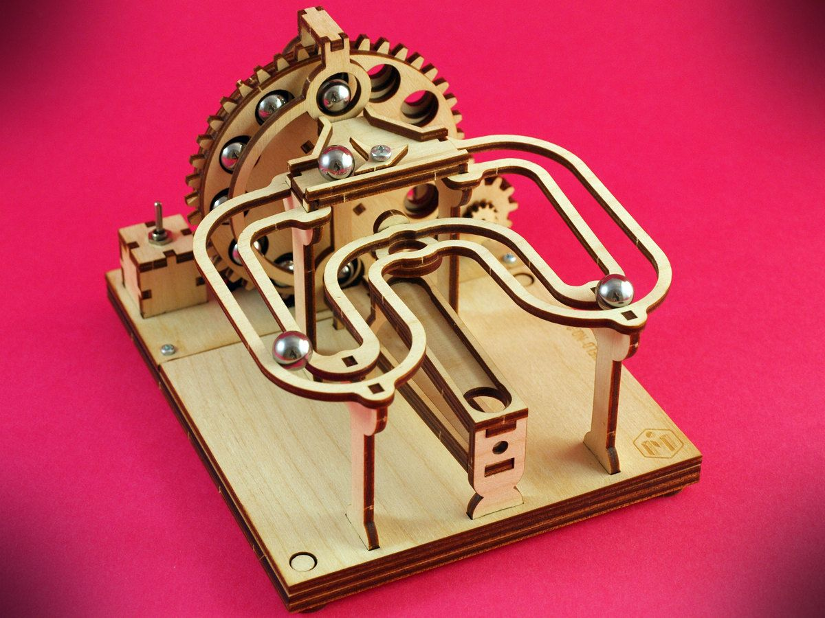 Electric Marble Machine KIT No.3 - Build Your Own | Pinterest ...