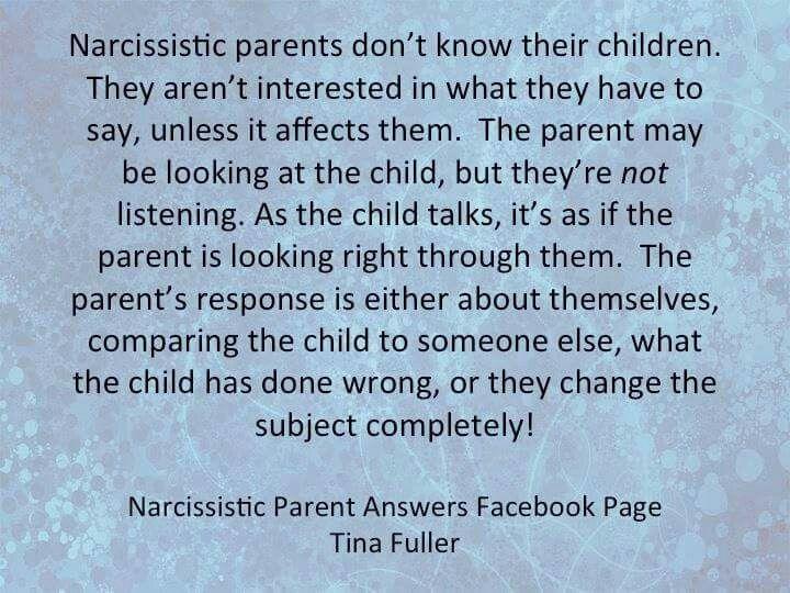 Malignant narcissist father