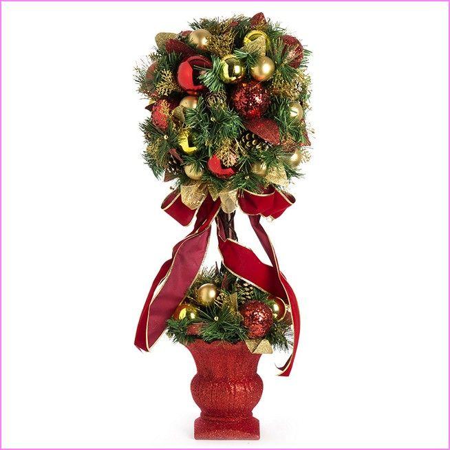 Christmas Topiary Ideas Part - 21: Christmas Topiary Trees