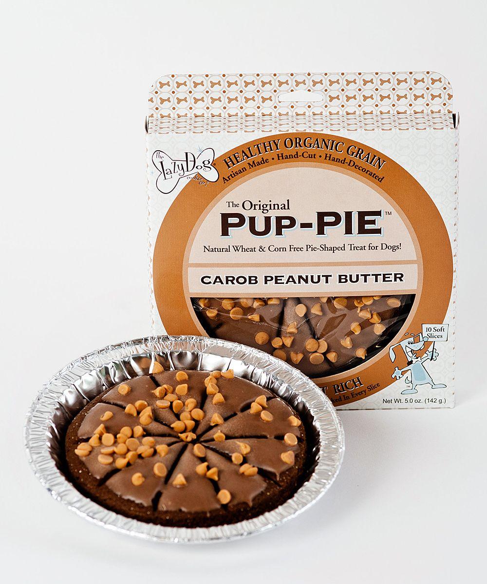 Carob Peanut Butter Pup-PIE | Healthy dog treats homemade ...