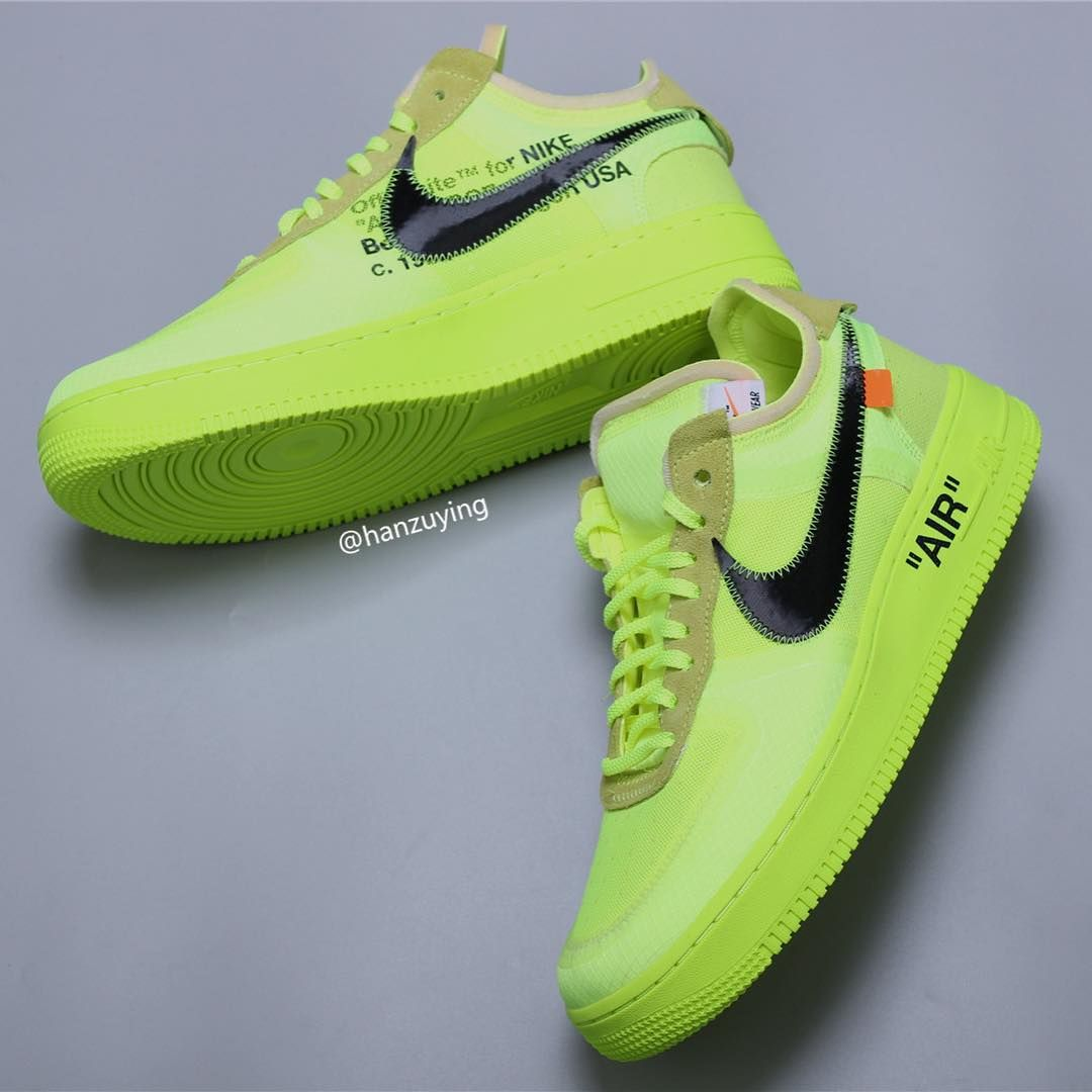 03c3dcefebcd Volt Off-White x Nike AF1 Low rumored to drop in November. Virgil Abloh s  Nike sneaker collabs show no signs of slowing any time soon.