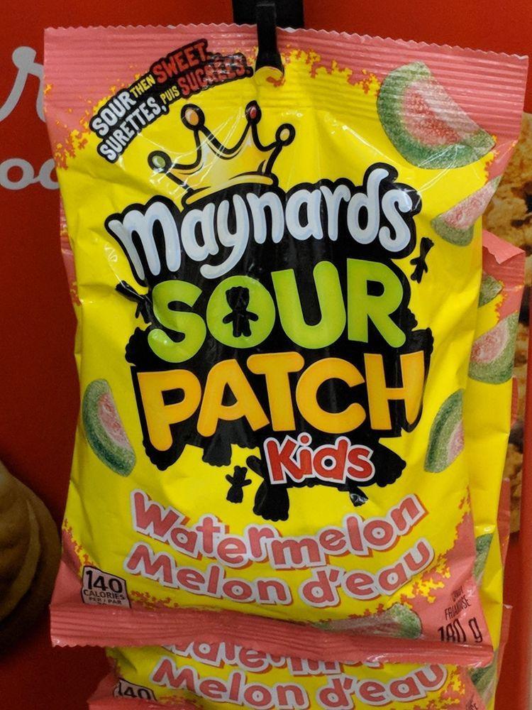Maynards Sour Patch Kids Watermelon Slices 185g American Candy Maynards Sour Patch Kids Sour Patch Watermelon Slices