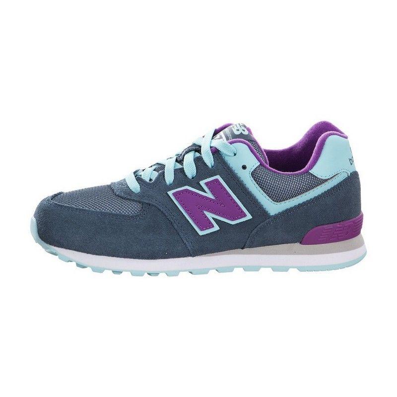 Buty Do Biegania New Balance Dla Dzieci Ciemnoniebieski Z Niebieskie Fioletowe 574 3 8 Lat Shoes Sneakers New Balance Sneaker