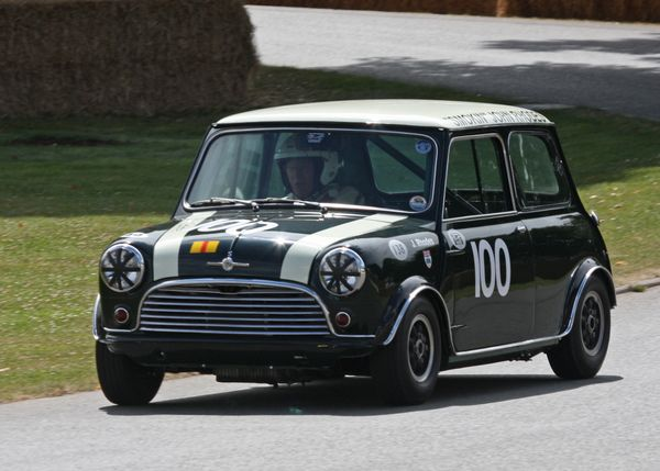 1965 austin mini cooper s cars coches carros fotos de. Black Bedroom Furniture Sets. Home Design Ideas