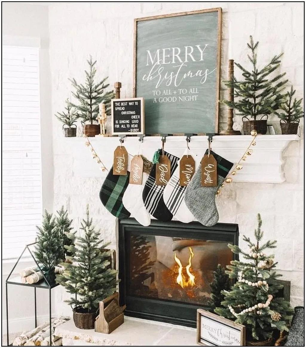 Winter Wonderland Home Decor Ideas You Never Seen Before Diy Christmas Fireplace Christmas Fireplace Decor Christmas Fireplace