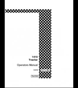 Best case ih 1410 1412 tractor operators manual download