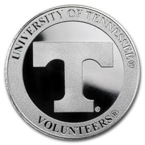 Buy Silver Online Buy 1 Oz University Of Tennessee Silver Rounds Apmex Com Buy Silver Online University Of Tennessee Silver Rounds