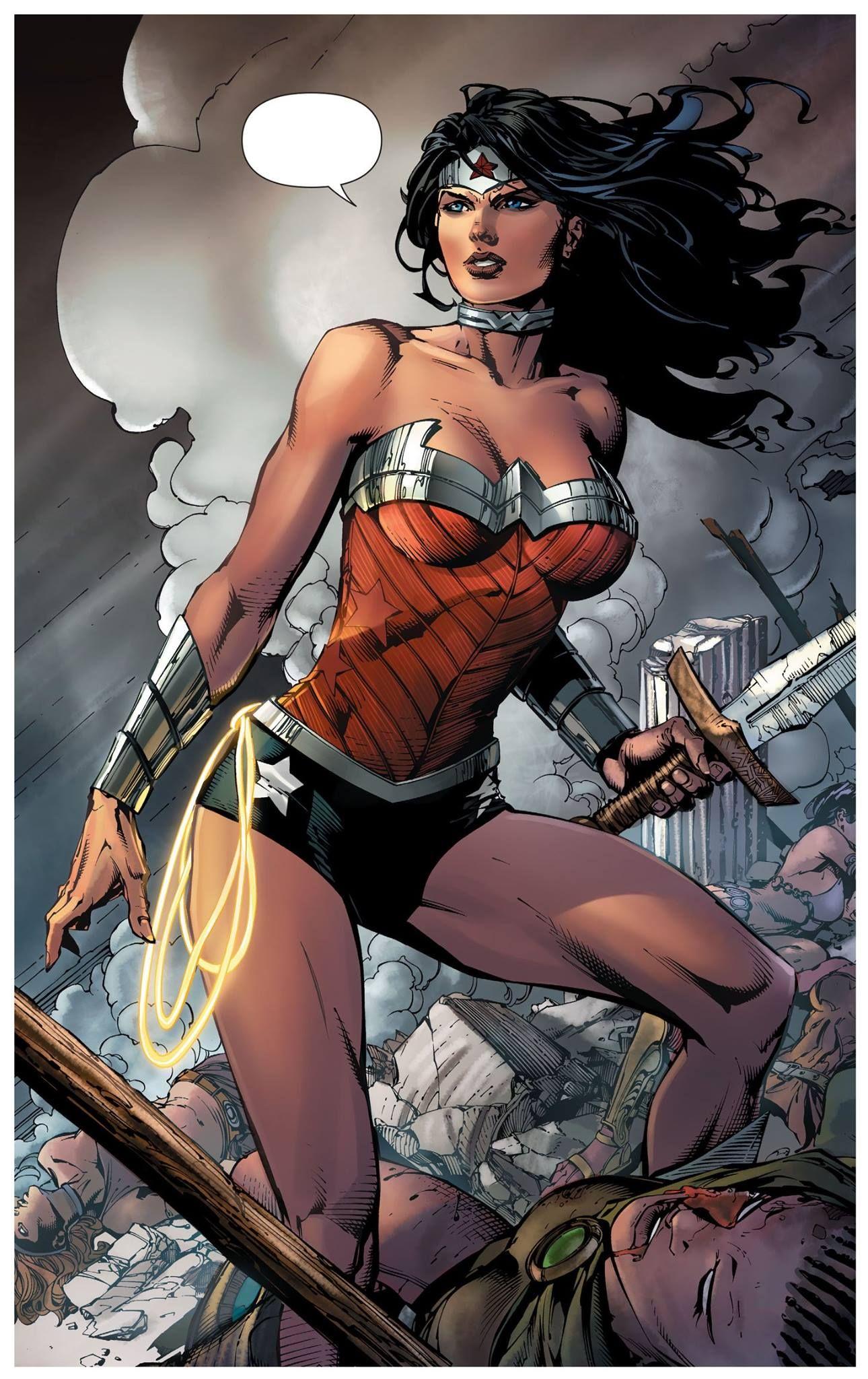 Wonder Woman #38 by David Finch * | Superman wonder woman, Wonder ...