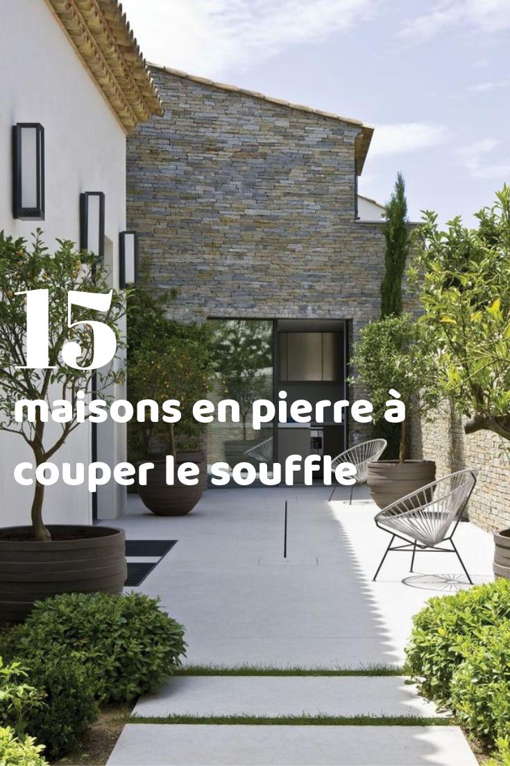 15 Magnifiques Maisons En Pierre Au Charme Fou !