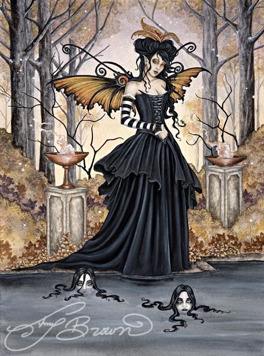 Amy Brown Fairies | Dark Undercurrent by Amy Brown | Fairies