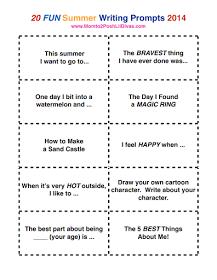 fun essay writing activities