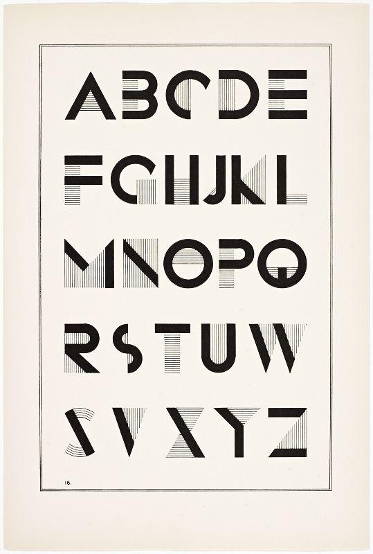 irene k ames a portfolio of alphabet designs for artists architects designers craftsmen 1938 new york via wolfsonian