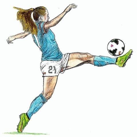 Imagen Relacionada Zeichnen In 2019 Fussball Kunst