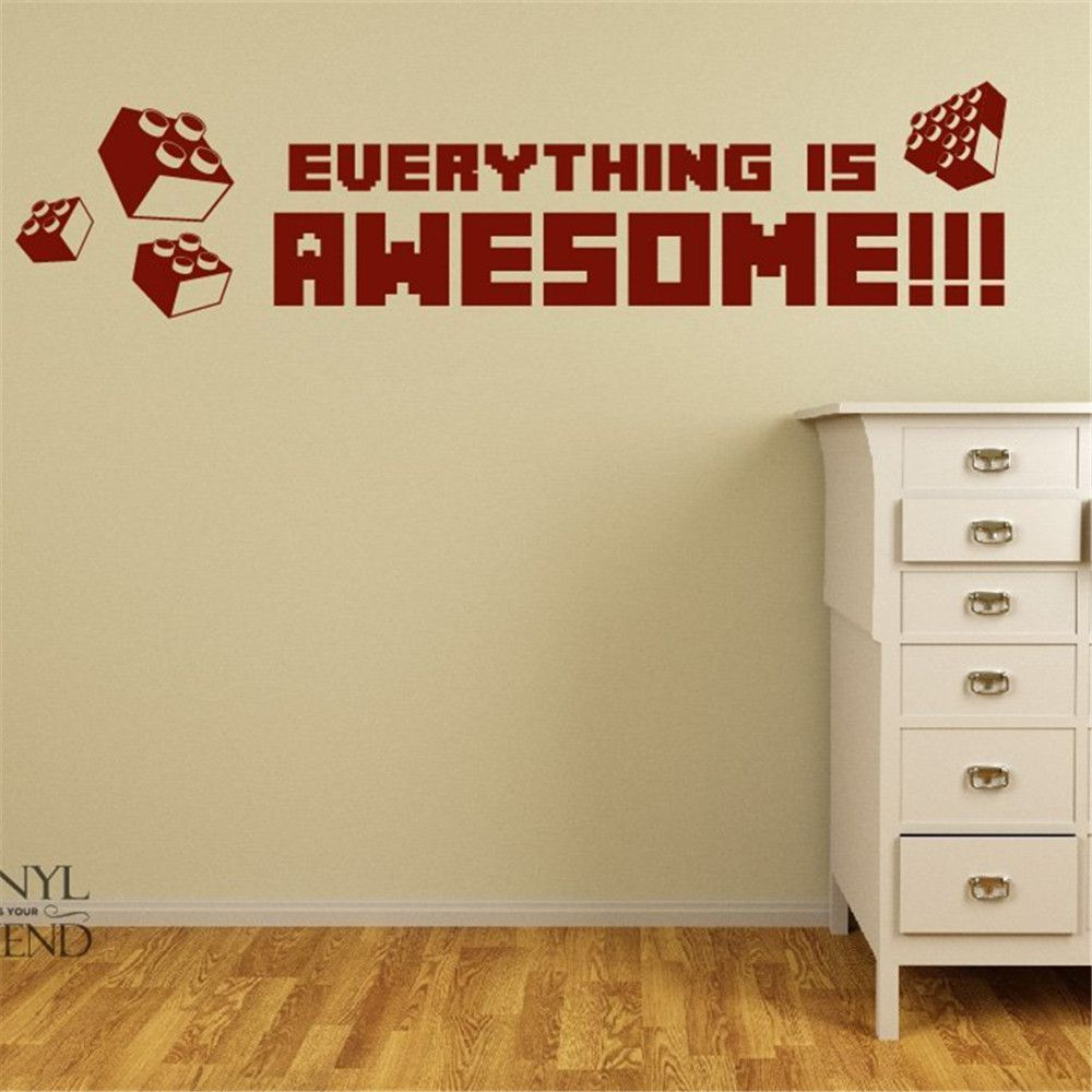 Lego evolution decal,home decoration Wall sticker, Lego Wall Art ...