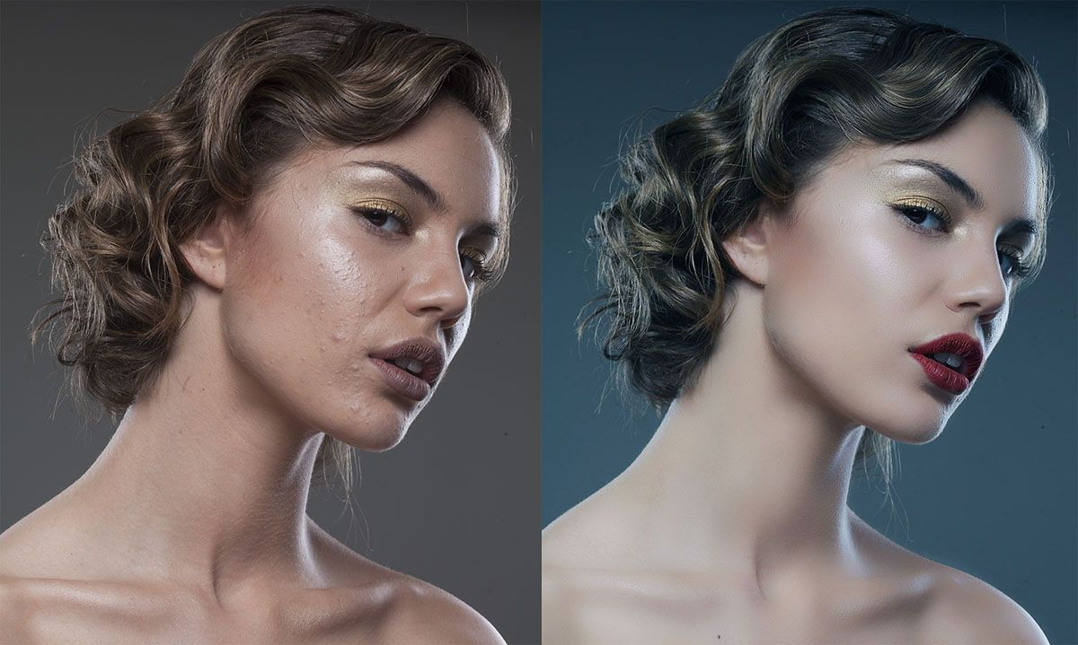 The high end retouching tutorials, show you how to