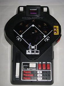 Tomy Digital Diamond baseball game- it was semi-electronic.