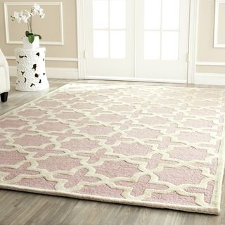 Safavieh Handmade Moroccan Cambridge Light Pink Wool Rug 8 X 10 Ping Great Deals On 7x9 10x14 Rugs
