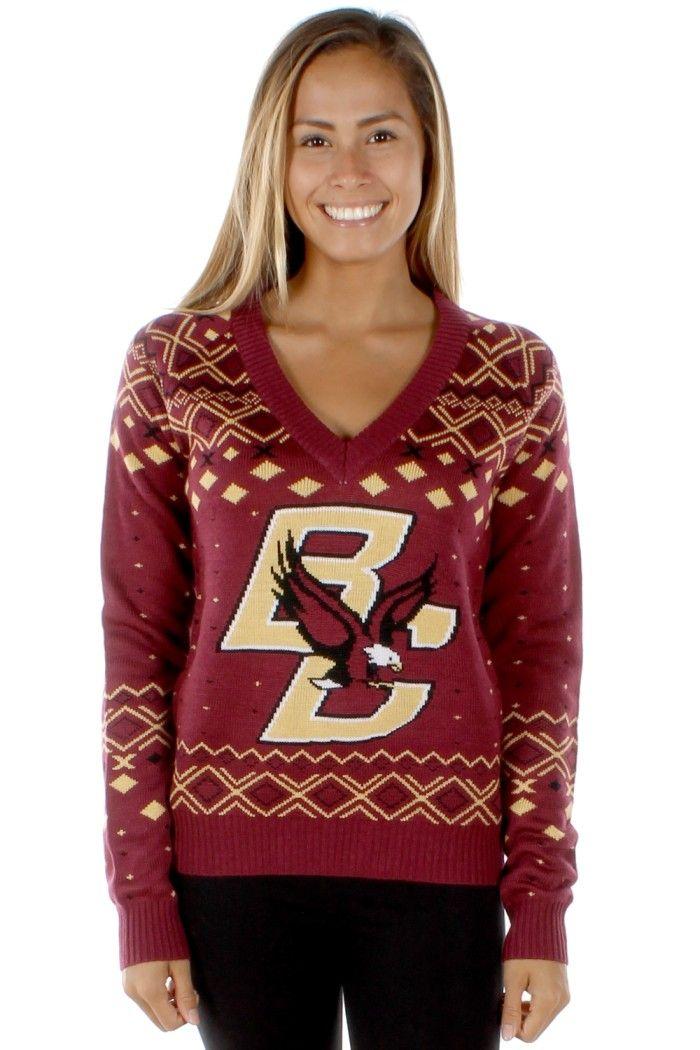 Women's Boston College Sweater