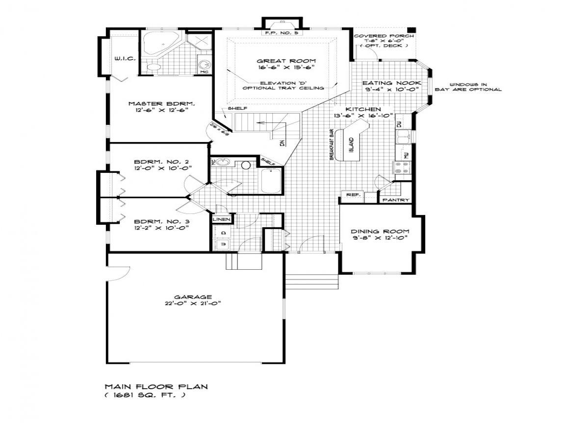 Large Bungalow House Plans Bungalow House Floor Plans Floor Plans Kitchen Floor Plans Bungalow House Floor Plans