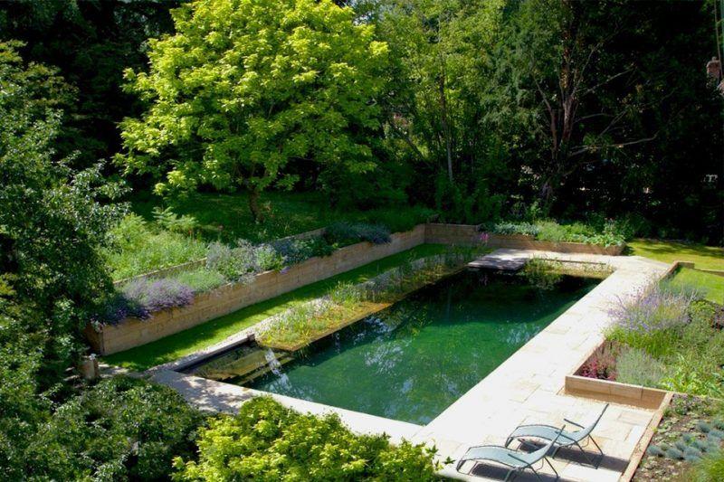 schwimmteich selber bauen 13 m rchenhafte gestaltungsideen naturgarten pinterest. Black Bedroom Furniture Sets. Home Design Ideas