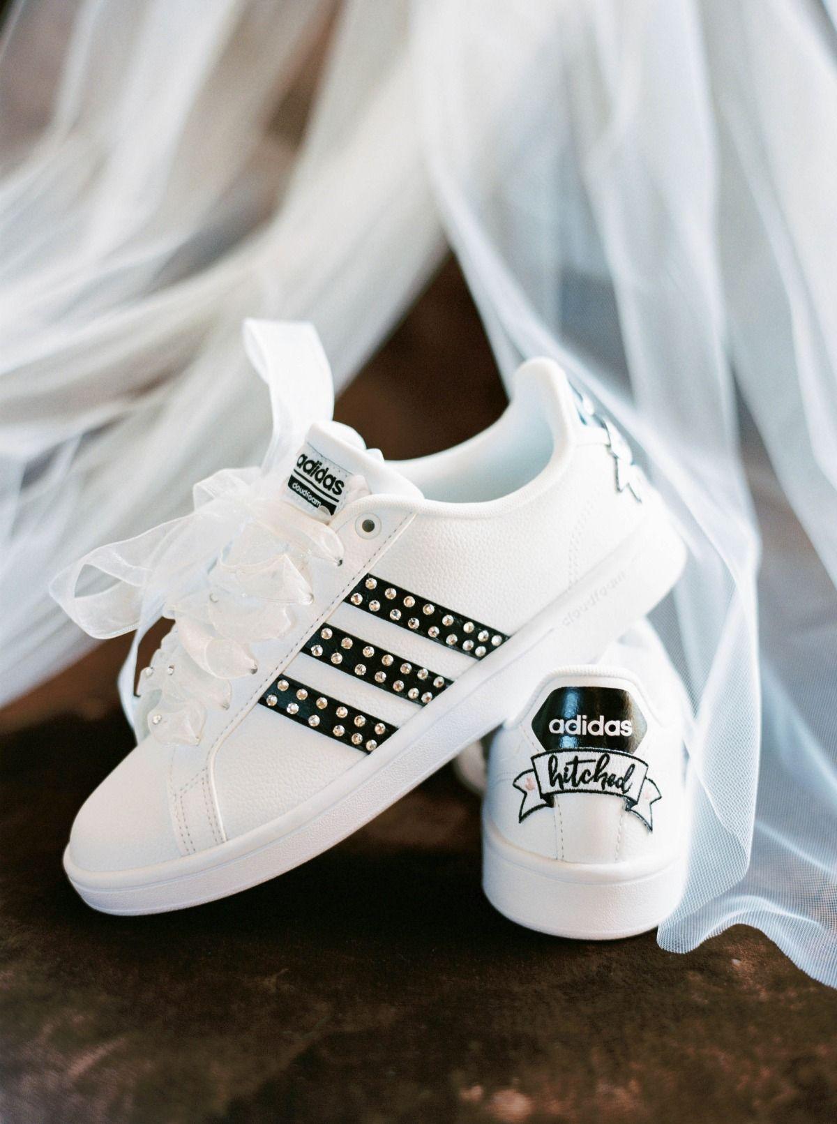 aa2192c2ad9 How To Say I Do On Top Of A Mountain | Shoes | Wedding sneakers ...