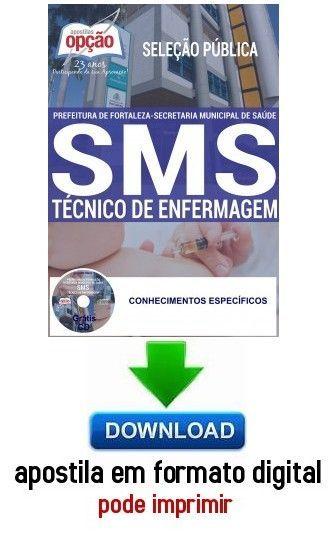 Apostila Tecnico Em Enfermagem Prefeitura De Fortaleza Ce