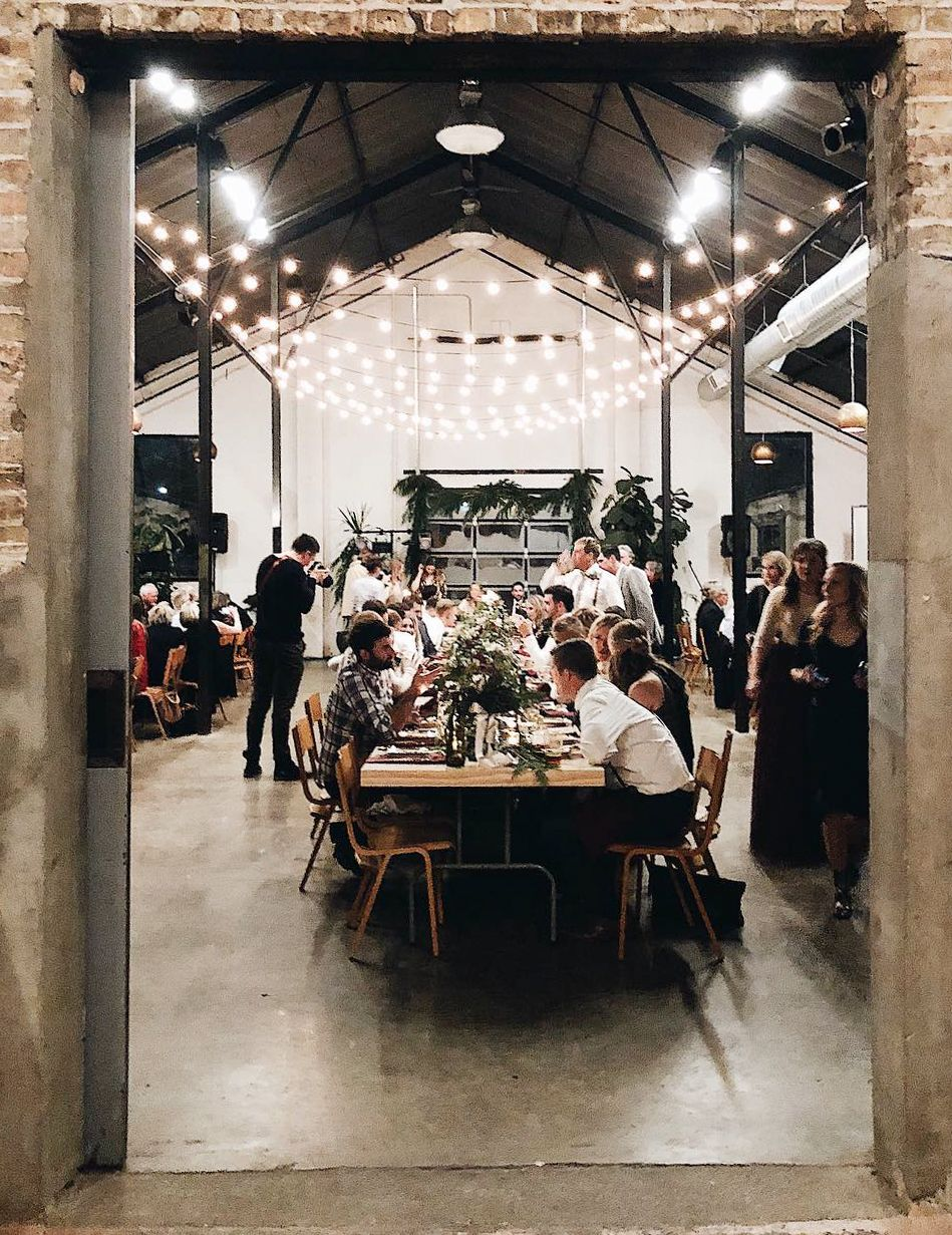 39 of the Coolest Warehouse Venues Around the World Hall