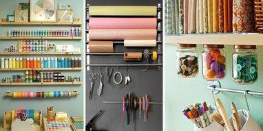 Diy Crafts Organiser Un Espace Atelier Chez Soi Atelier Rangement Et Bureau