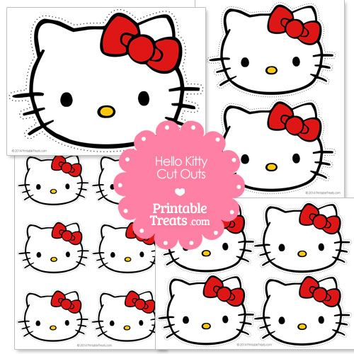 Free Hello Kitty Head Cut Outs From Hello