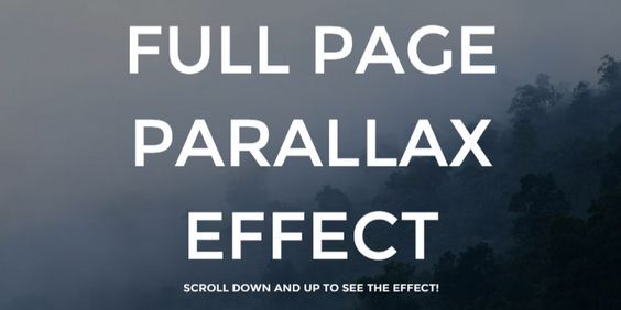 A snippet coded in CSS that provides a really smooth parallax - best of blueprint css menu