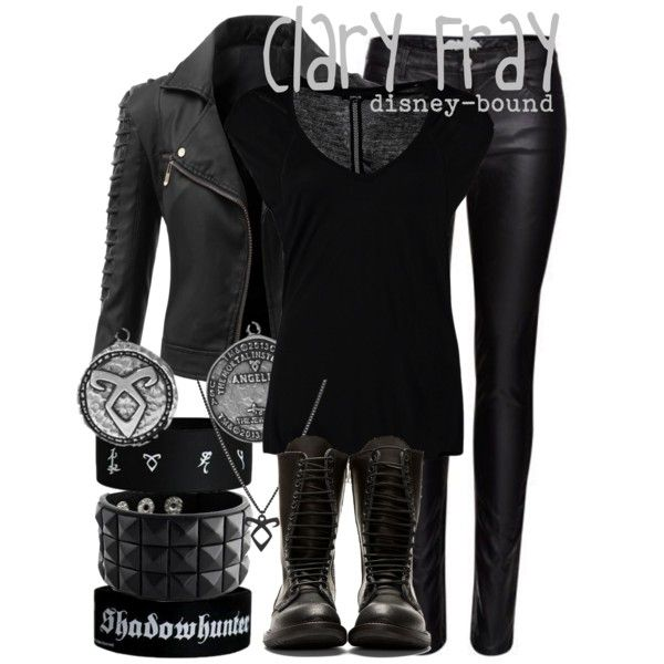 """""""Clary Fray"""" by disney-bound on Polyvore"""