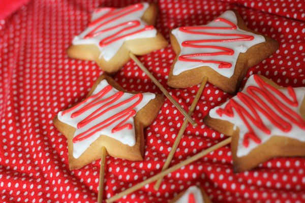magic wand cookies - I was going to make these, next time!