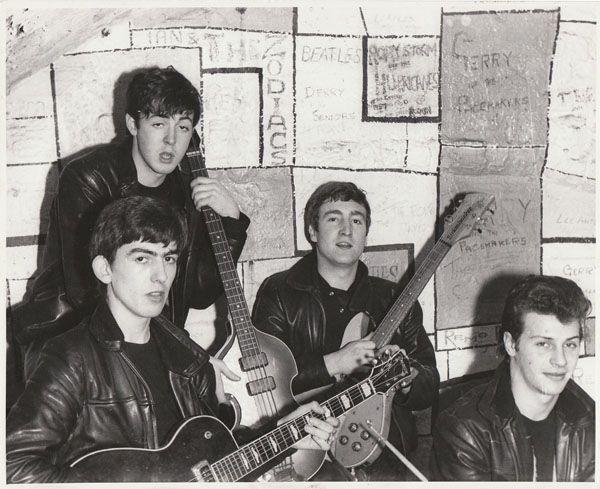 "The Beatles At The Cavern 1961 Print  14 x 11/"""