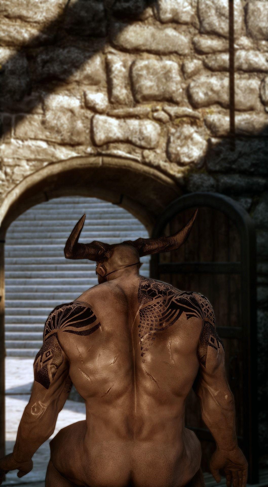 Железный бык фото рисунок