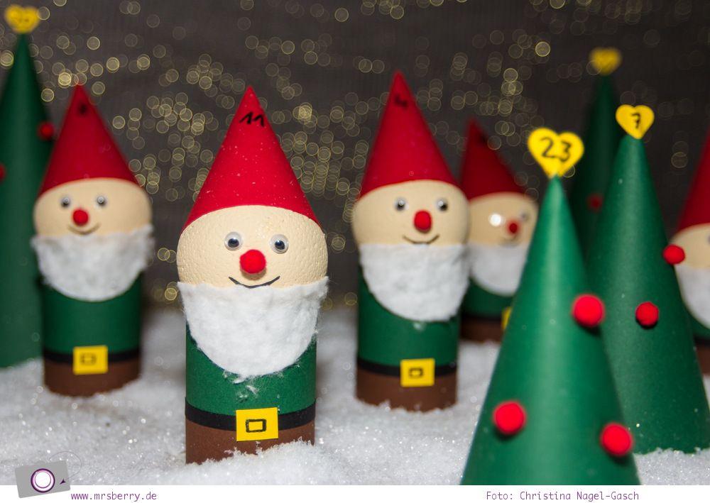 adventskalender basteln m rchenwald zum selbermachen basteln weihnachten and calendar. Black Bedroom Furniture Sets. Home Design Ideas