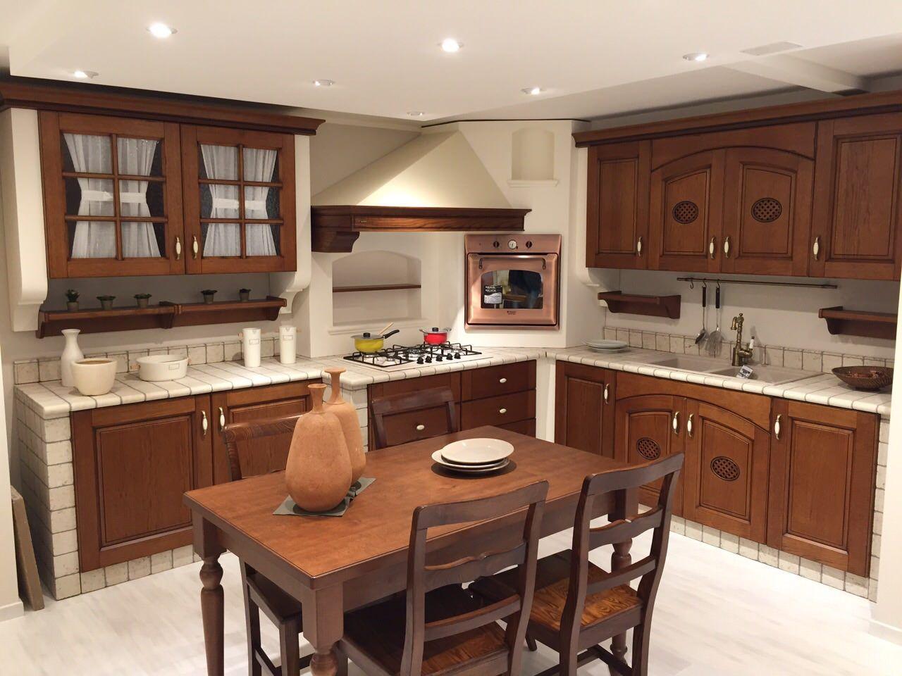 Forno Cucina In Muratura cucina completa di tavolo